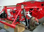 JAGUAR E-type 5.3 V12 front suspension, brakes 23